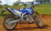 Yamaha WR di Pondok Cabe